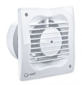 E-vent Visual T 150MM Fan with Timer - 5077