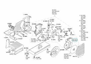 Housing for Bosch Siemens Slicers - 00086355