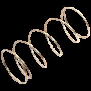 Door Opening Knob Spring for Whirlpool Indesit Microwaves - 481067570501