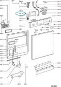 Control Module for Whirlpool Indesit Dishwashers - 481221838554