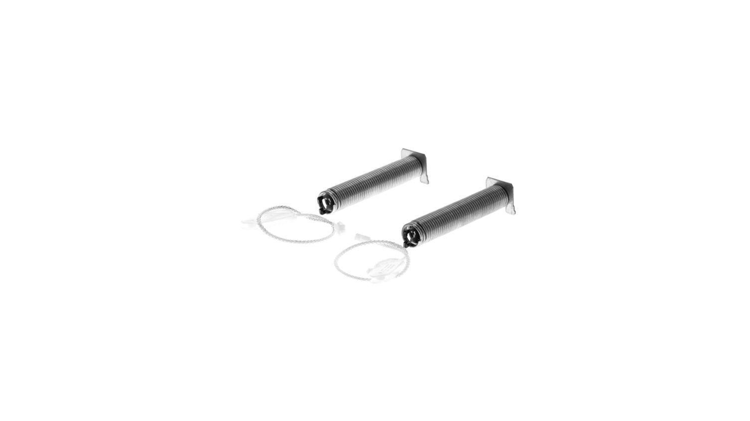 Repair Set, 2 Springs, 2 Cords for Bosch Siemens Dishwashers - Part nr. BSH 00754869 BSH - Bosch / Siemens
