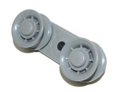 Upper Basket Rail Wheel for Beko Blomberg Dishwashers - 1752600400