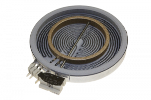 Ceramic Dual Zone Hotplate (200mm/1700W and 130mm/700W) for Electrolux AEG Zanussi Hobs - 140057327011