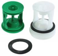 Original Pump Filter Set for Whirlpool Indesit Ariston Fagor Brandt Smeg Washing Machines - Part nr. Whirlpool / Indesit C00141034