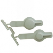 Double Button, Knobs for Whirlpool Indesit Washing Machines - Part nr. Whirlpool / Indesit 481251318172