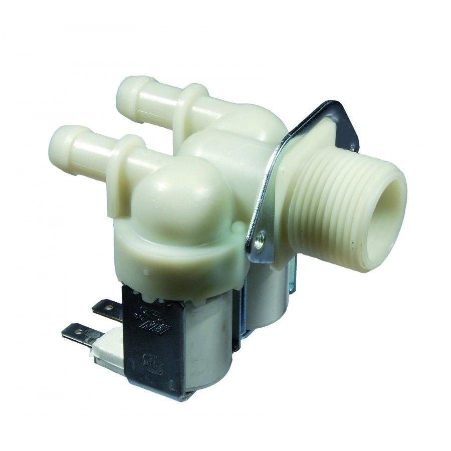 Two Way Valve for Whirlpool Indesit Washing Machines - Part nr. Whirlpool / Indesit 481281729057