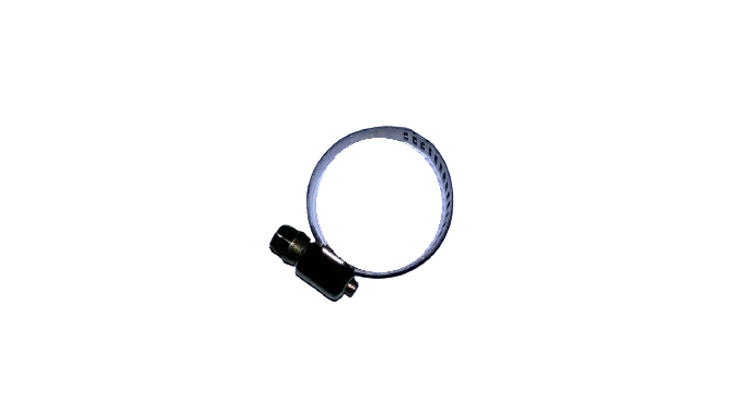 Hose Clamp, Galvanized Material, for Fastening Hoses with a Diameter of 19-26 mm for Universal Washing Machines