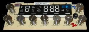 Module with Display for Beko Blomberg Dishwashers - Part nr. Beko / Blomberg 1730980500