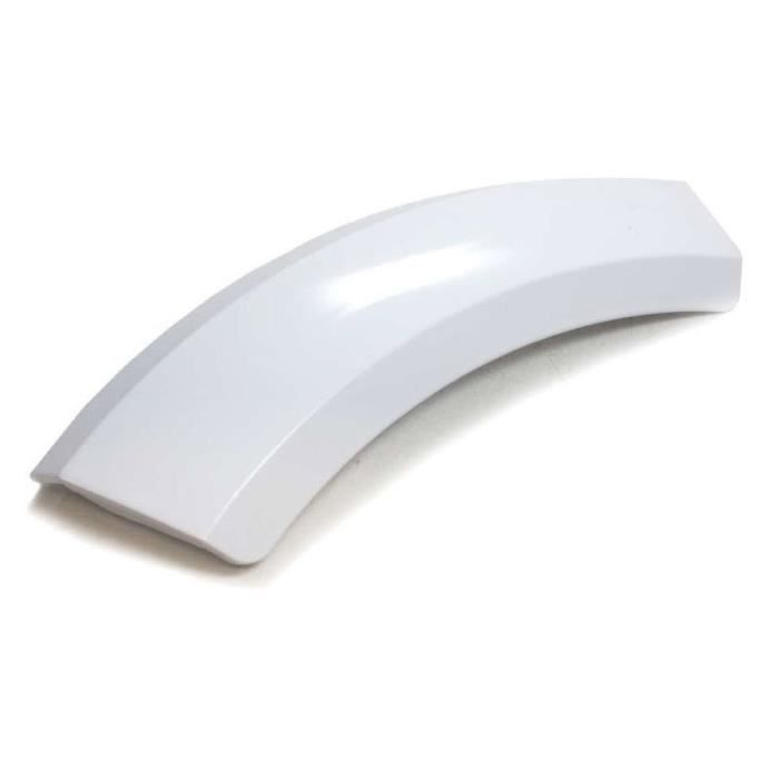 Door Handle for Bosch, Siemens Tumble Dryers White - 00644221