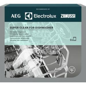 Super Clean Degreasing Agent for Electrolux AEG Zanussi Dishwashers - 9029799302