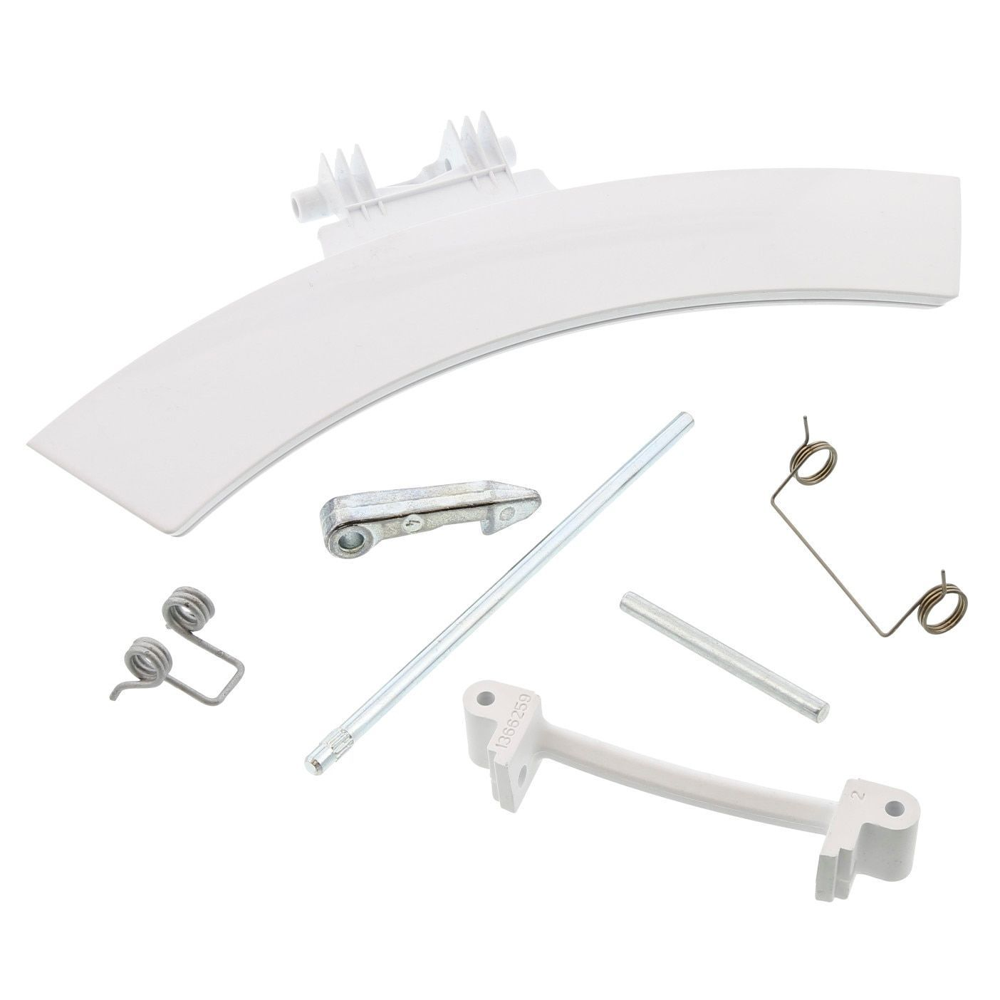 Tumble Dryer Door Handle Kit for Electrolux - 4055248019 AEG / Electrolux / Zanussi